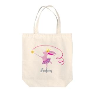 ribbon dance Tote bags