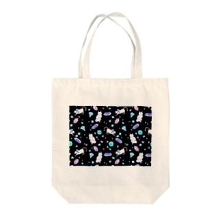 gemstone(black) Tote bags