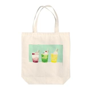 しろくまソーダ Tote bags