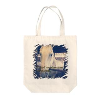 馬ことわざ Tote bags