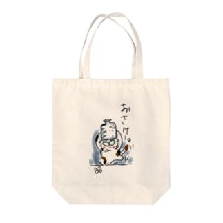 OWANCATのキャラクターです Tote bags