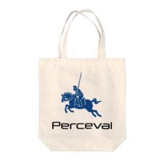 パーシヴァル Tote bags