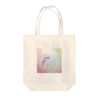 heavenly girl Tote bags