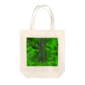 シマフクロウの森 Tote bags