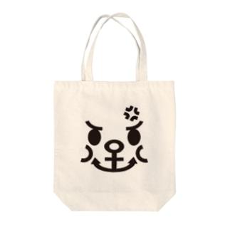 怒りのイカリ Tote bags