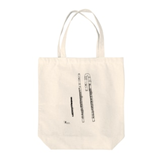flutes  Tote bags