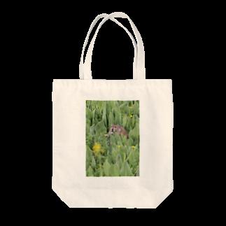 ゆきうさぎ工房のナキウサギinメタカラコウ Tote bags