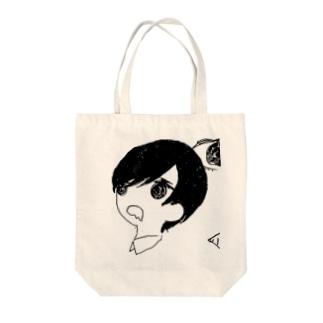 おなかすいた Tote bags