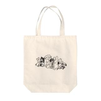おもちゃ Tote bags