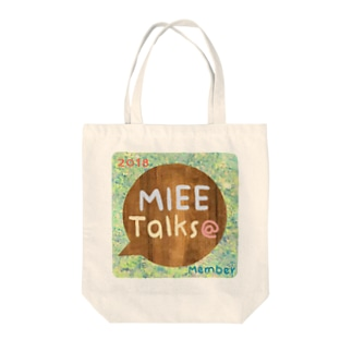 MIEE Talks@ふんわりロゴ Tote bags