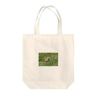 にこにこナキウサギ Tote bags