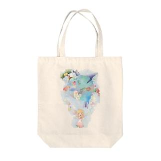 オゾン層を守る Tote bags