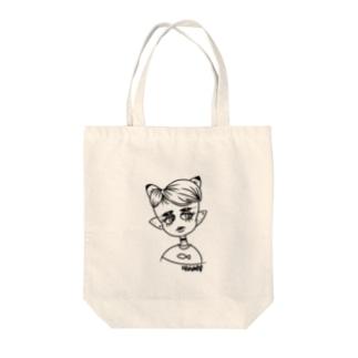 Neko Tote bags