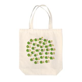 ギャのっぴーいっぱい Tote bags