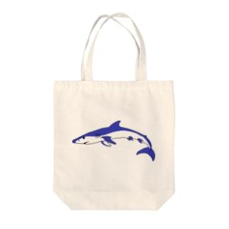 ヨシキリザメ Tote bags