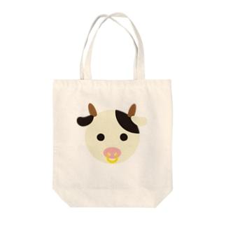 干支丸-丑-animal up-アニマルアップ- Tote bags