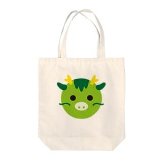 干支丸-辰-animal up-アニマルアップ-  Tote bags