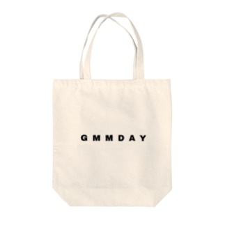 GMMDAY SIMPLE LOGO Tote bags