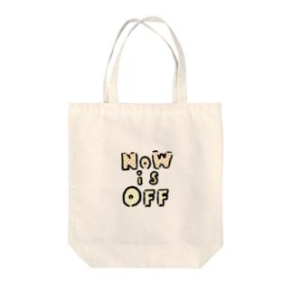 NOWisOFF Tote bags