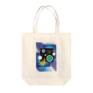 audio planet Tote bags