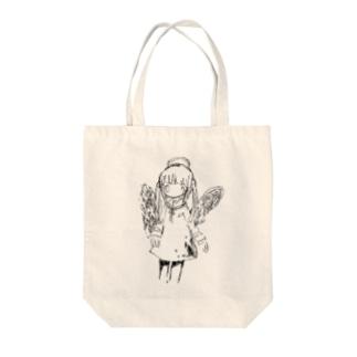 天使の絵 トートバッグ