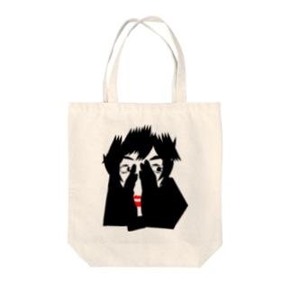 ちら見シリーズ-01 Tote bags