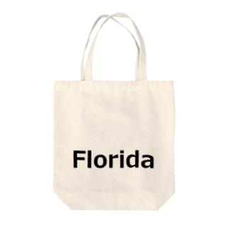Florida フロリダ Tote bags