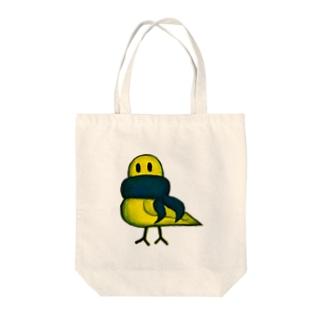 マフラーとり Tote bags