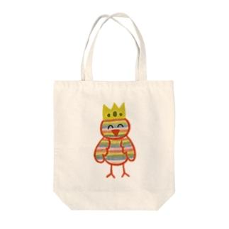 とりの王様 Tote bags