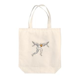 アヒルちゃん Tote bags