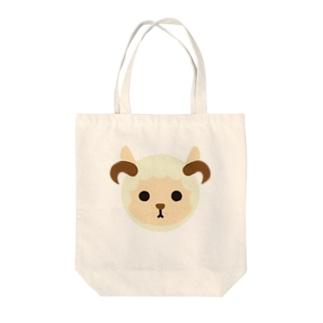 干支丸-未-animal up-アニマルアップ- Tote bags