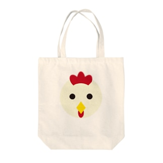 干支丸-酉-animal up-アニマルアップ- Tote bags