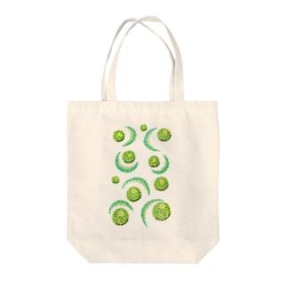 インスピレーションNo,7 Tote bags