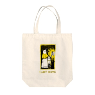 CANDY HORNSのDARK KNOCK Tote bags