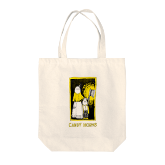 CANDY HORNSのよるの足音 Tote bags