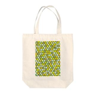 ハニカム【コンガラガル画002】 Tote bags