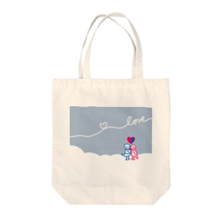 LOVEグッズ Tote bags