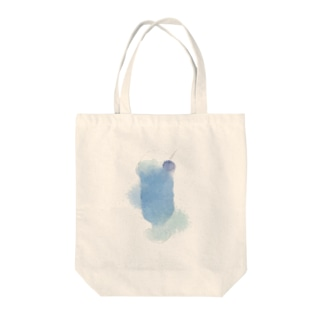蒼いクリームソーダ Tote bags