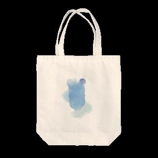 白山 静の蒼いクリームソーダ Tote bags