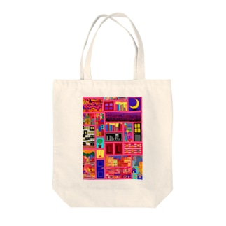 pinky&city&… Tote bags