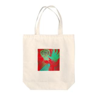催眠術 Tote bags