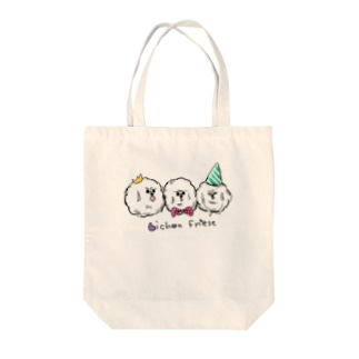 だんごビション Tote bags