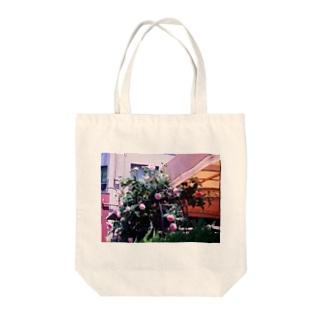 薔薇のおはな Tote bags