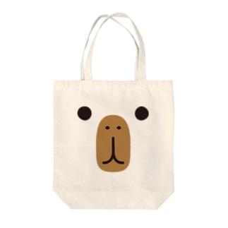 カピバラ-animal up-アニマルアップ- Tote bags