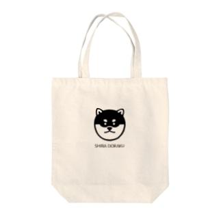 SHIBADORAKU(+英字ロゴ) Tote bags