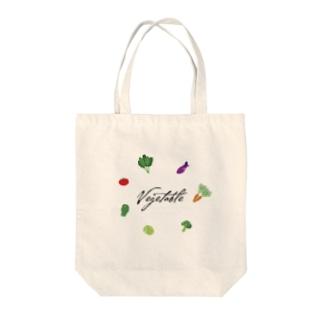 vegetable Tote bags