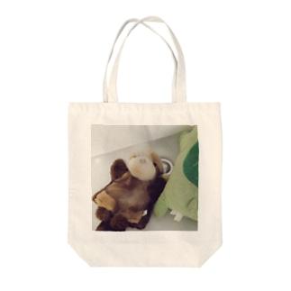 水飲み湖太郎 Tote bags