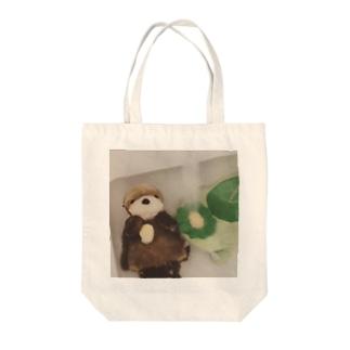 水浴びかっぺーさん Tote bags