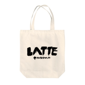 Latte with muscovado Tote bags
