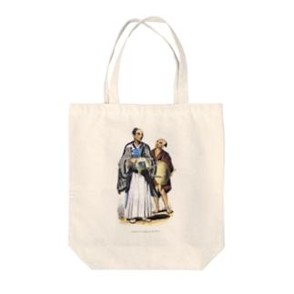 身分の高い日本人とその使用人 - The British Library Tote bags